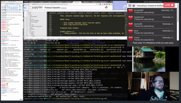 发现一个比直播睡觉更神奇的网站……直播写代码